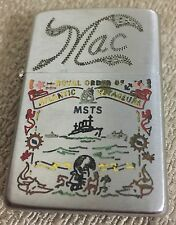 Us Militaria Zippo Royal Order of Atlantic Voyageurs rare lighter