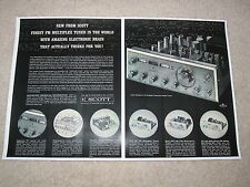 Scott Tube Ad, 1962, 4310 Super Tuner, Specs, Articles, Tubes at its best! 2 pgs