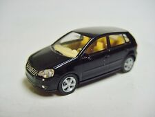 1:87 WIKING 2005 VOLKSWAGEN POLO 5-door deep black RARE DEALER PROMO MODEL !!!