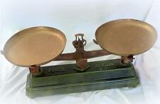 French antique Roberval balance scales 10kg