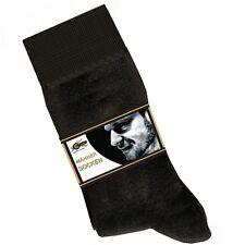 10 PAAR Herren Socken Gr. 39-42 handgekettelte Spitze schwarz 10-2-39/42