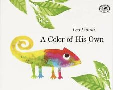 A Color of His Own by Leo Lionni (children's picture paperback) SCHOLASTIC