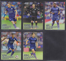 Topps Premier League Stadium Club 2016 - Leicester Base Set (5)