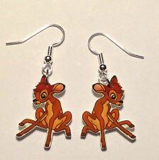Bambi Earrings Clumsy Deer Charms