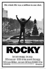24x36 ROCKY MOVIE POSTER HIS WHOLE LIFE WAS MILLION TO ONE SHOT
