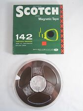 "Scotch 3M 7"" 142 Tartan Series 1800 ft Reel to Reel Magnetic Tape- New Old Stock"