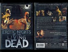 Erotic Nights Of The Living Dead - Brand New Region 1 DVD - Rare, Out Of Print