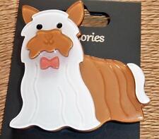Beautiful   Cute Yorkshire Terrier Dog Brooch Pin