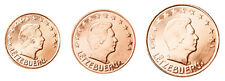 Luxembourg 1,2 & 5 Euro Cent 2014 UNC