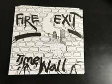 "Fire Exit - Time Wall 7"" kbd punk scotland 45 reissue punkrock killed by death x"