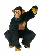 Adult Chimp Chimpanzee Gorilla Full Suit Costume One Size