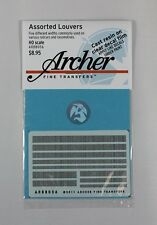 Archer HO-Scale 1/87 Resin Louver Assortment Mix (five different widths) AR88056