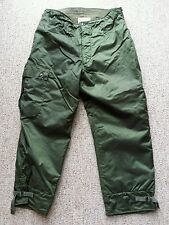 Vintage 1980 Military Extreme Cold Weather Impermeable Trousers Pants Large