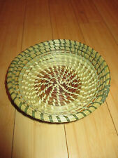 Sweetgrass Circle Bowl Basket
