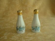 Vintage M.Z. Austria PORCELAIN HANDPAINTED SALT & PEPPER SHAKERS