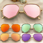 Retro Women Men Vintage Sunglasses Aviator Mirror Len Driving Glasses Eyewear