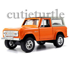 Jada Just Trucks 1973 Ford Bronco 1:32 Diecast Toy Car Orange