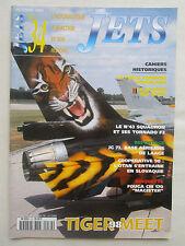 REVUE JETS 34 TIGER MEET CONGO SEA HAWK TORNADO F3 JG 73 LAAGE FOUGA MAGISTER