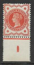 ½d Vermillion control I perf single perfect UNMOUNTED MINT