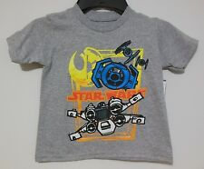 Star Wars NEW Boys 2T T-shirt Graphic Tee NWT Tags Toddler Rebels X-Wing Empire