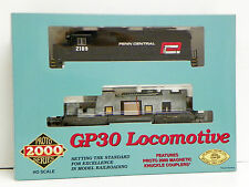 "PROTO 2000 - LIMITED EDITIONHO M/A ""PENN CENTRAL"" GP30 POWER LOCOMOTIVE #2196"