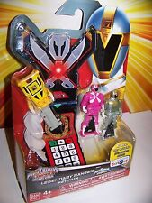 Power Rangers Super Megaforce Lightspeed Rescue Titanium Ranger Legendary Key