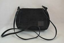 Vintage Small Bally Black Shoulder Purse Material