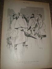 King Sol the jester and some April Fools Dudley Hardy Print 1903 ref Z