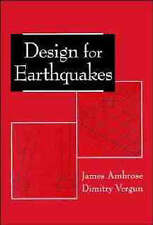 Design for Earthquakes, James Ambrose