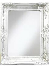 White Wall Mirror 40x50cm Shabby Chic Vintage Designed Home Decor Wall Mirror