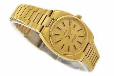 Vintage Omega Seamaster Cal.684 Gold Plated Automatic Ladies Watch 1284