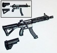 """Basic"" FO6c Compact Assault Rifle -1:18 Scale Weapon for 3-3/4"" Action Figures"