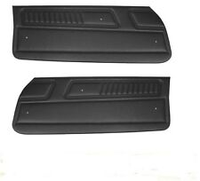 1970 1971 Camaro Standard Interior Upper Door Panel Set, PUI