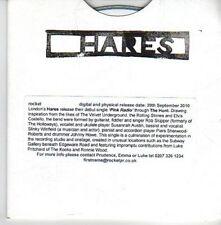 (DA107) Hares, Pink Radio - 2010 DJ CD