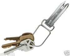 Genuine SWISS+TECH Screwz-All 4-in-1 Keychain tool Multi Tool Plier, ST50021