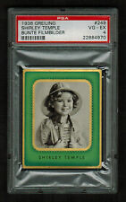 PSA 4 SHIRLEY TEMPLE 1936 Lloyd Greiling Cigarette Card #249