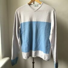 Very Cool West Hem Clements Ribeiro pure cashmere jumper Sz M Made in Scotland