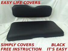 SIMPLY COVERS EZGO TXT CLUB CAR DS + 2000 GOLF CART SEAT COVERS STAPLE ON #10