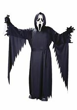 New Big Kids Size 8-12 GHOST FACE Zombie Costume Ghoul Restless Soul Boys Girls