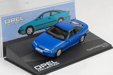 Opel Calibra v6 1993/1997 azul metalizado 1:43 Ixo Altaya Collection