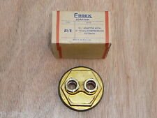 "Essex Adaptor Plug 21/4"" c/w 2 x 15mm Compression Fittings A1/R Flange 21/4 x 15"