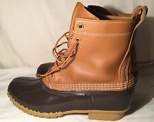 "Men's  LL Bean 10""Hunting Boot - Tan / Brown Size 8M."