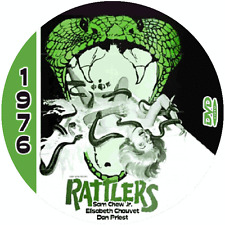 Rattlers (1976) Classic Sci-fi and Horror 'B' Movie DVD NR