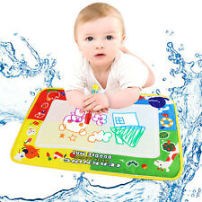 2015 46X30cm Toys Water Drawing Mat Board &Magic Pen Doodle Kid Child Toy Gifts
