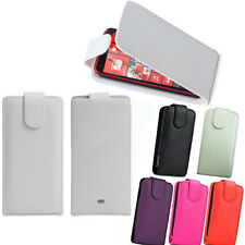 For Nokia Lumia 610 620 820 920 Vertical Flip Cover Pouch Holder Protector Case