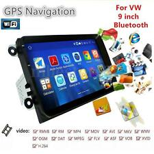 """9"""" Double 2DIN Android GPS Navigation Car Stereo FM Radio Bluetooth WIFI Player"""