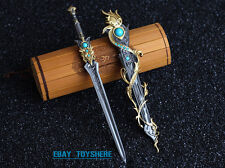 1/6 Dynasty Warri China broadsword heavy sword for Blood Zombies metal 20cm 琴剑