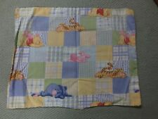 "1672.  WINNIE THE POOH Cotton PILLOW CASE to Complete - 12 1/2"" x 16"""