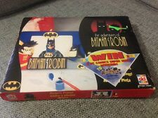 vintage adventures of batman and robin toy mib picture frame kit 80s Dekker Toys
