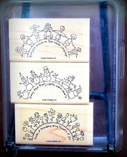Used The World Over Stampin Up Set of 3 stamps